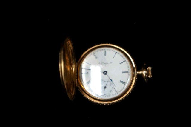 15: Elgin 14K Pocket Watch