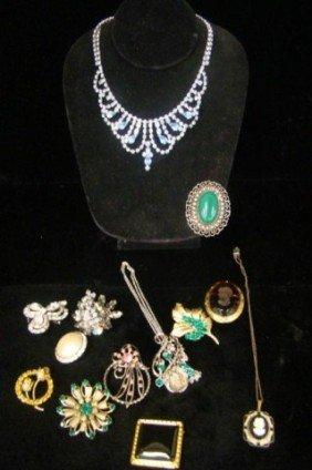 Lot Of Mixed 1930's-40's Necklaces, Bracelets