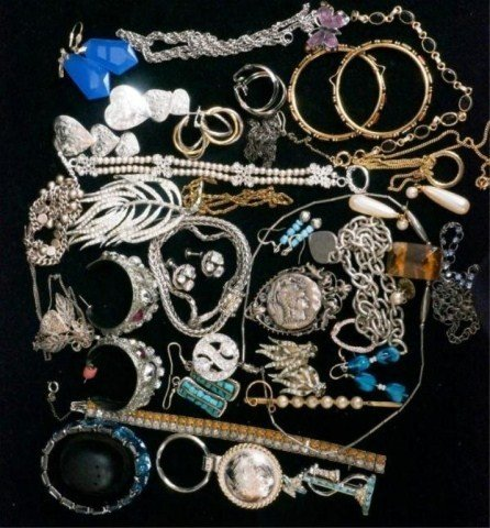 72: Mixed and Assorted Costume Jewelry Lot