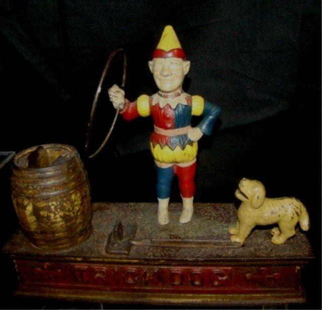 5: Trick and Dog Mechanical Bank