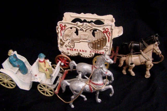 17: Overland Circus and Stanley Drawn Carriage