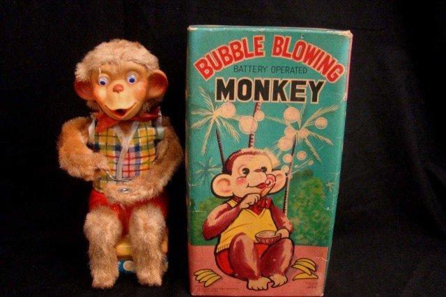 23: Bubble-blowing Monkey