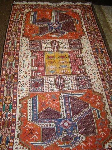 15: Native Tribal rug