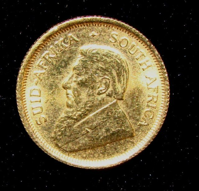1: South Africa Krugerrand  Coin 1/10 ozt