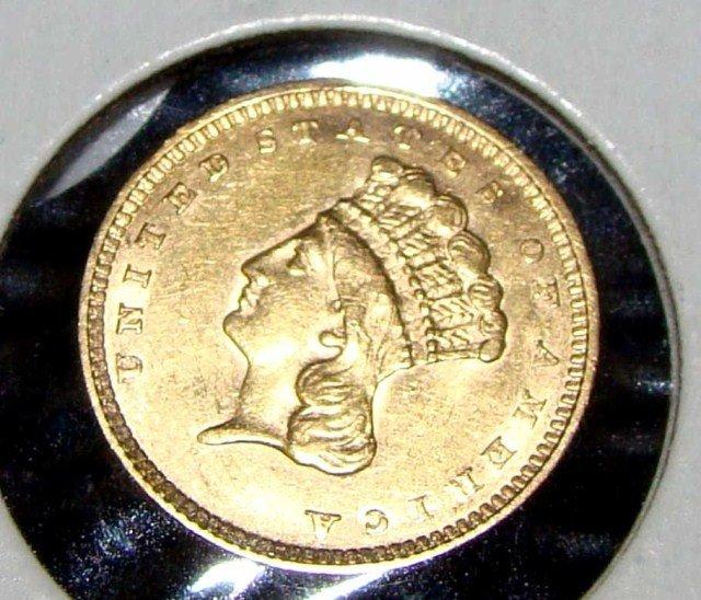 3: 1856 T-3 U.S. Gold Dollar