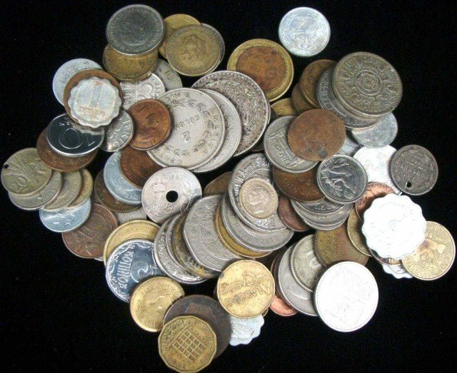 13: 1 lb  Mixed World Coins