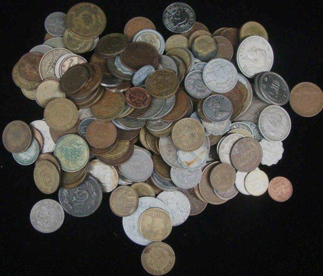 14: 2 lb  Mixed World Coins