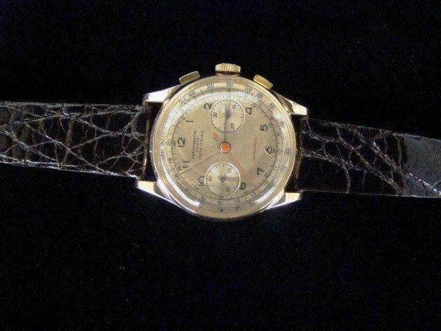 19: 18k Chronograph Watch Suisse 17 Rubis