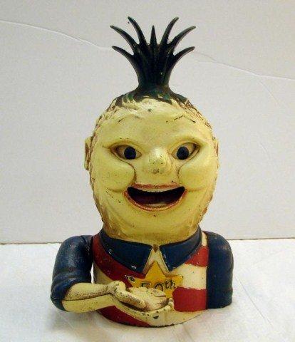 1: Penny Pineapple Mechanical Bank