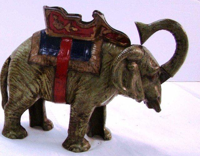 4: Circus Elephant Mechanical Bank