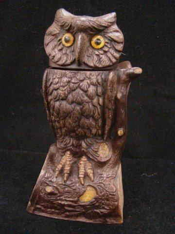 5: Owl Turning Head Mechanical Bank