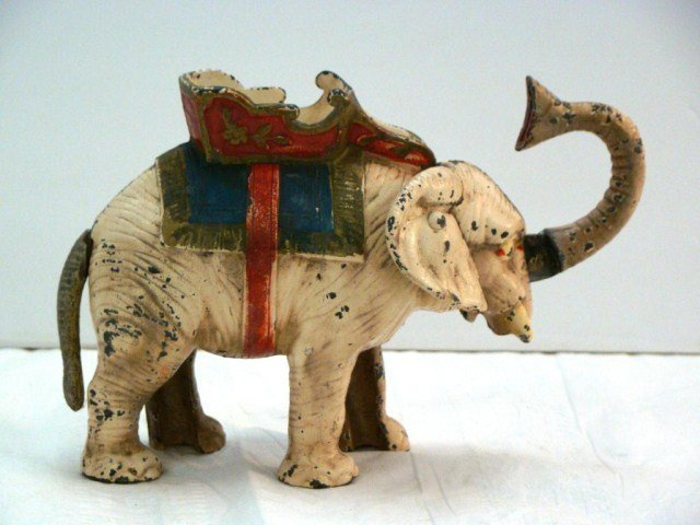 8: Circus Elephant Mechanical Bank