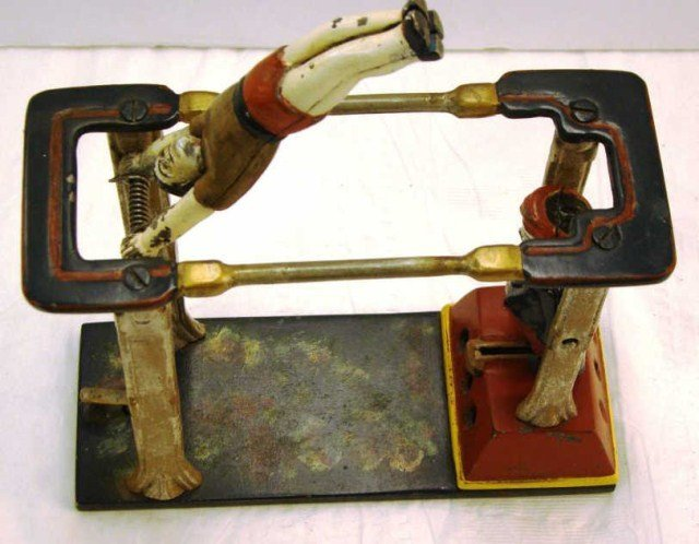9: Acrobat Boy Mechanical Bank