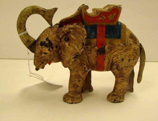 15: Circus Elephant Mechanical Bank
