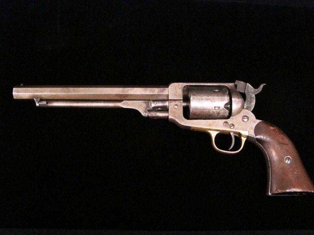 153: E. Whitney Civil War Era Black Powder Revolver