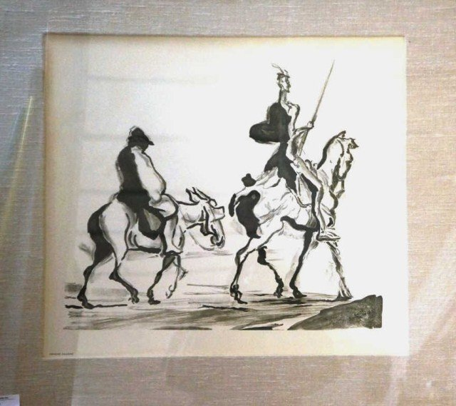 16: Honore Daumier Lithograph