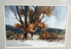 Roberta Threshen, Watercolor Landscape