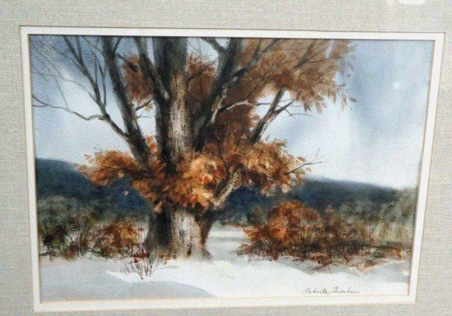 29: Roberta Threshen, Watercolor Landscape