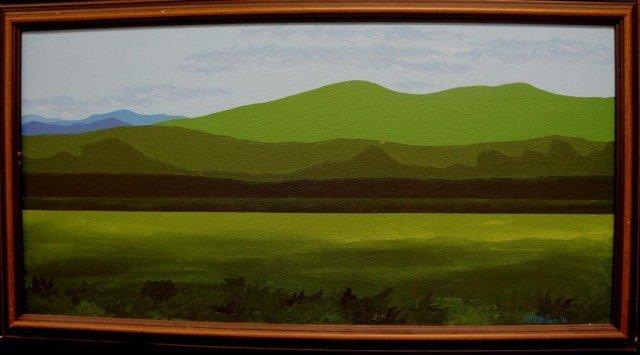 34: S. O'Brien Oil on Canvas