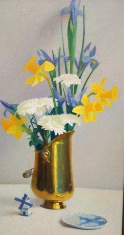 41: Sid Willis, Oil on Canvas Still Life