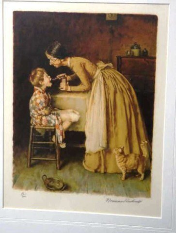75: Norman Rockwell, Lithograph