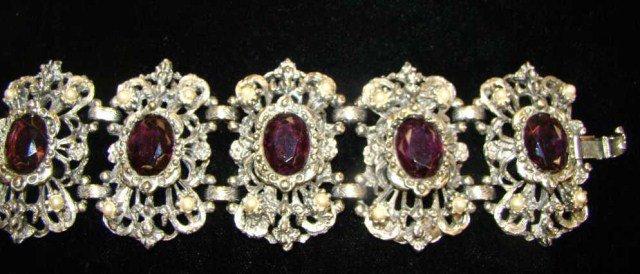 3: Vintage Amethyst Bracelet