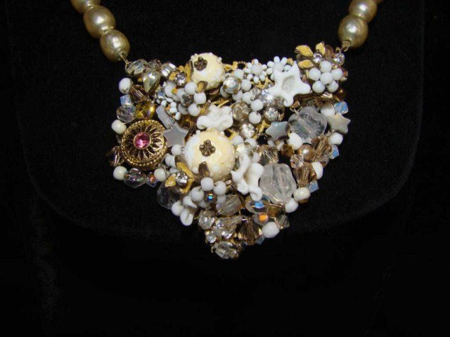 14: Miriam Haskell Necklace