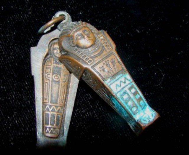 20: Egyptian Revival Figure Pendant