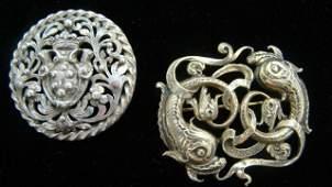 45: Peruzzi 800 Silver Pin