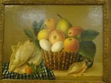 37 Pierre Joseph Redoute Oil on Canvas