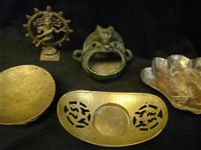 216 Assorted Oriental Metal Work Lot