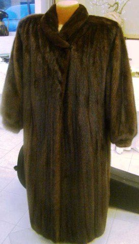 1: Ladies Full Length Mink Coat