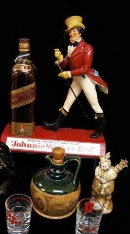 1: Johnny Walker Red  Advertising Lot