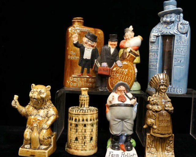 6: Lot of 8  Whimsical Figures /Schafer Vater