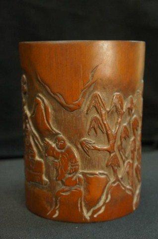 6: Bamboo Brush Pot
