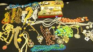 41 Huge Assorted Costume Jewelry Lot