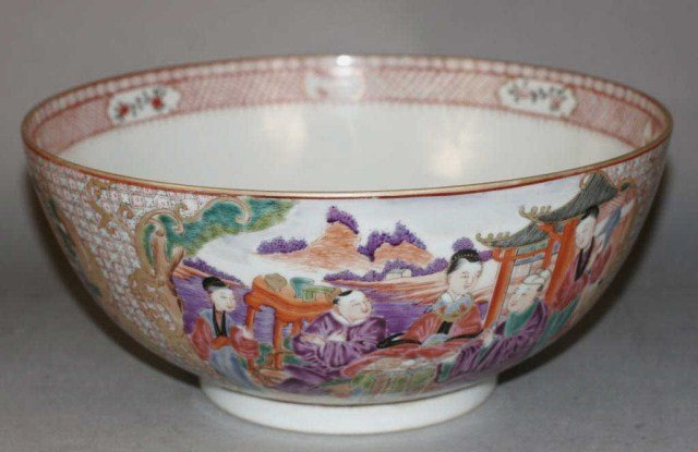 Chinese Exported Porcelain Bowl