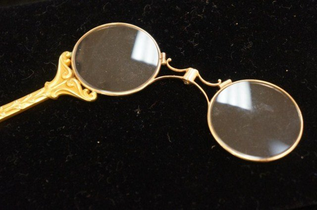 14K Gold -Antique Reading Glasses