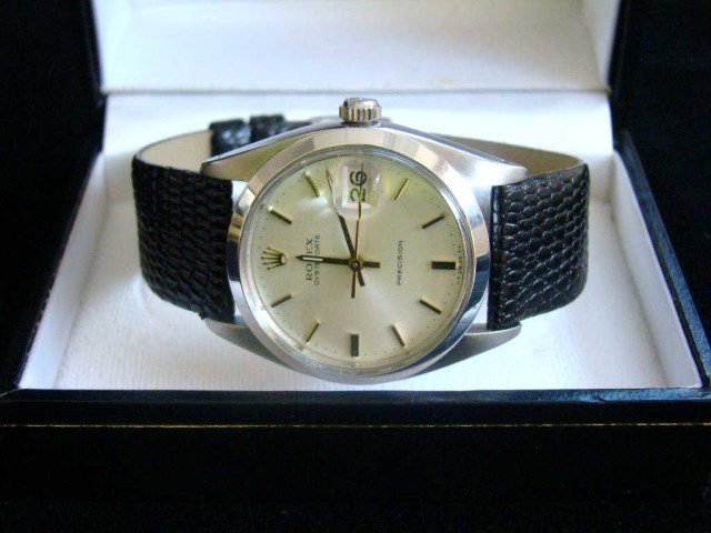 Men's Vintage Precision Rolex Watch