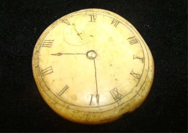Bone Inuit  Pocket Watch
