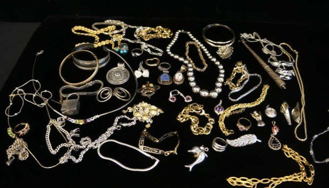 Large Assorted Lot of Sterling Silver