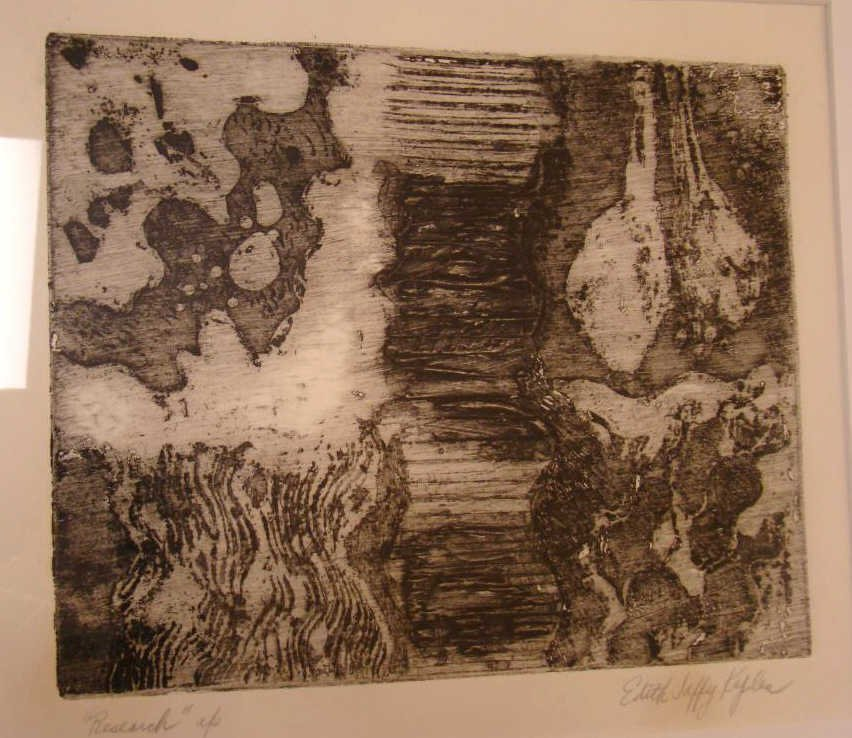 Abstract Drawing Edith Jaffey Kaplan