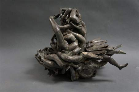 Mixed Metal Arm and Leg  Sculpture