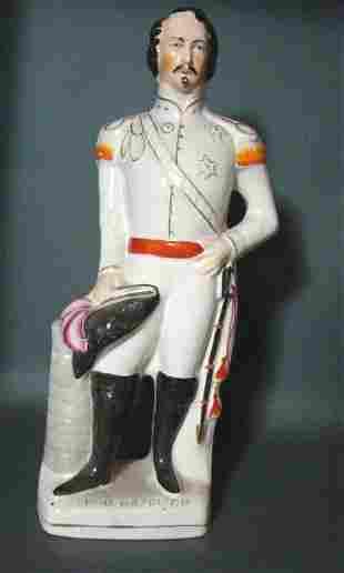 Antique Staffordshire Napoleon Figure