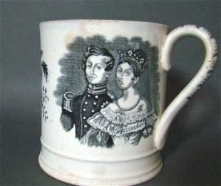 Antique Staffordshire Mug