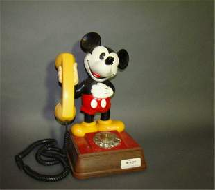 1970s Mickey Mouse Talking Phone