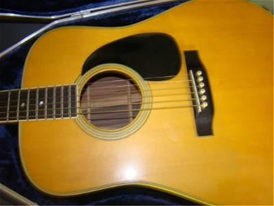 Martin & Co Guitar with Case Model D-35 Serial # 321419