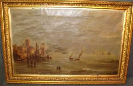 Theodore Valenkamph,  American Oil Painting (1869-1924)