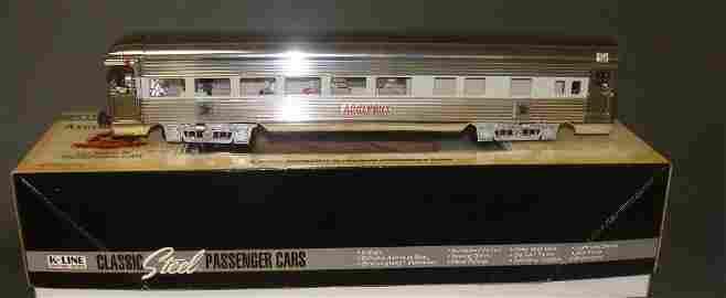 K-Line Electric Aluminum Train #K4698-0101