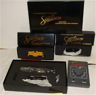 Lot of 3 Spectrum from Bachmann